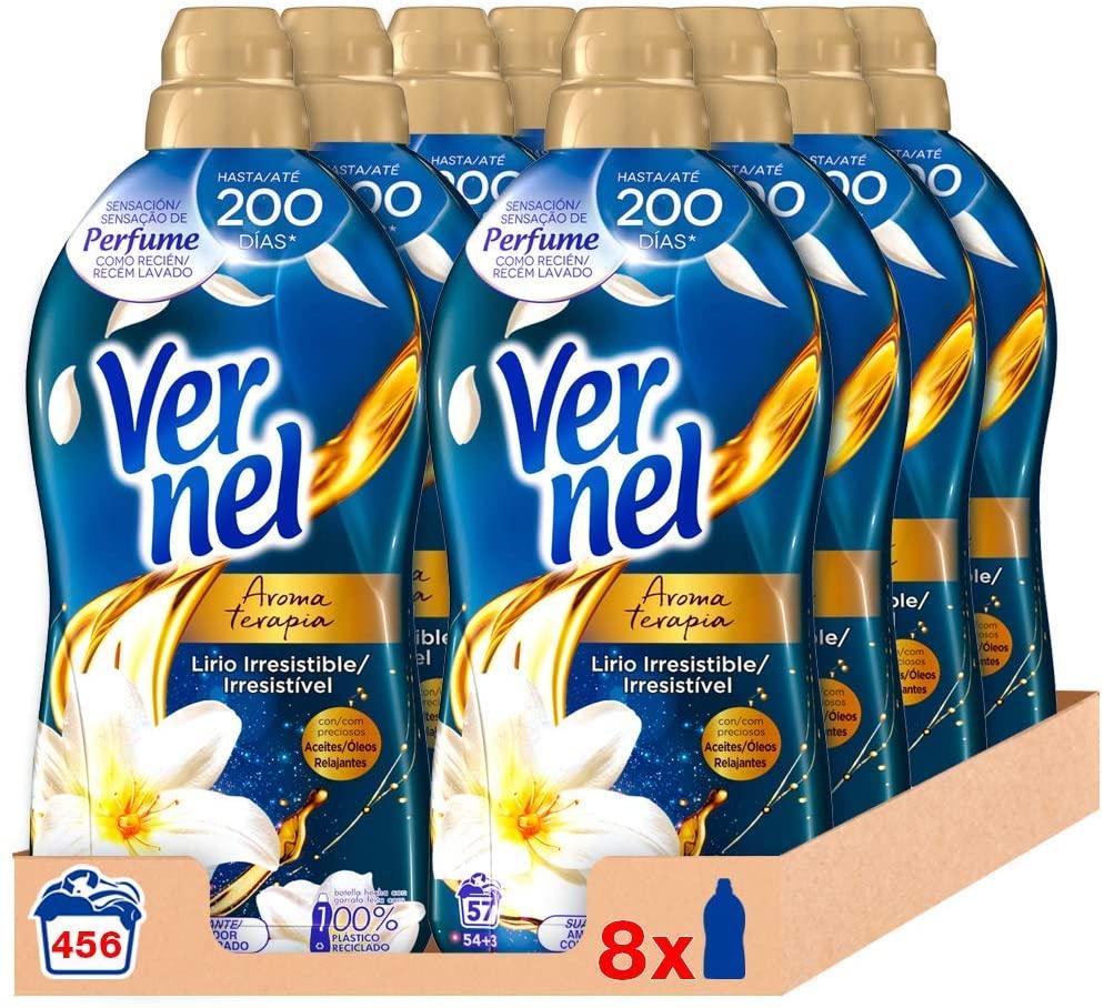 456 Lavados Vernel Suavizante Concentrado Aceite de Jazmín y Lirio