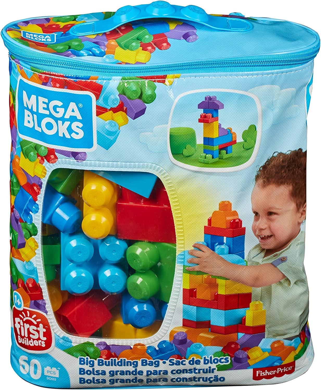 Mega Bloks 60 bloques de construcción