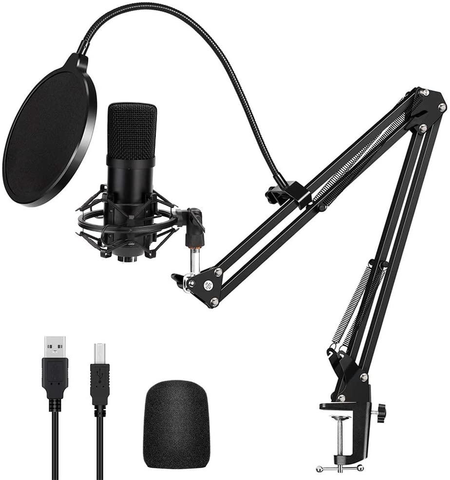 Micrófono de condensador con Accesorios