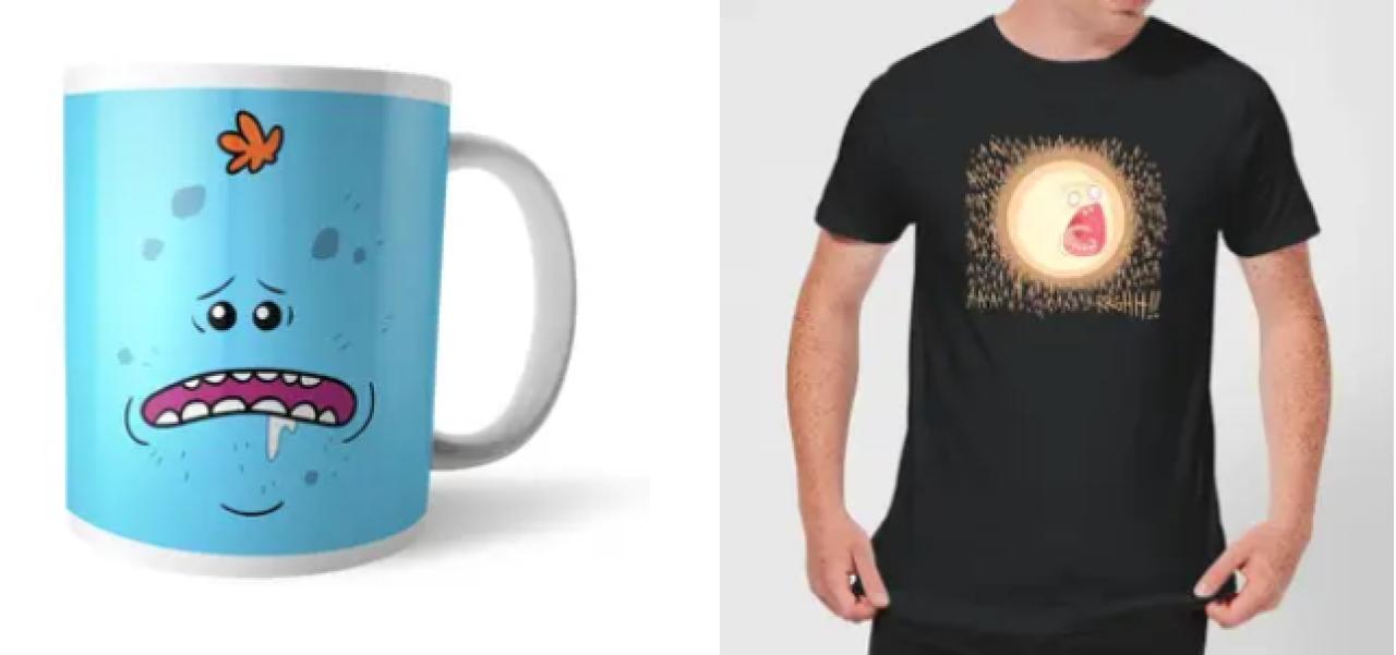 Camiseta + Taza Rick y Morty