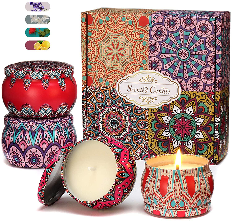 Juego de velas de aromaterapia