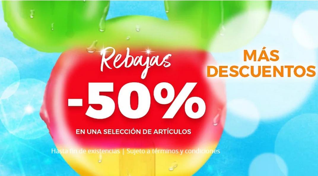 Rebajas de verano en Disney Hasta un 50% + 10% Extra