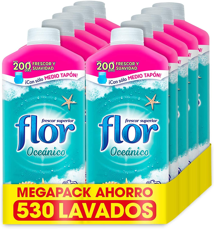 10x Flor Suavizante Aroma Oceánico