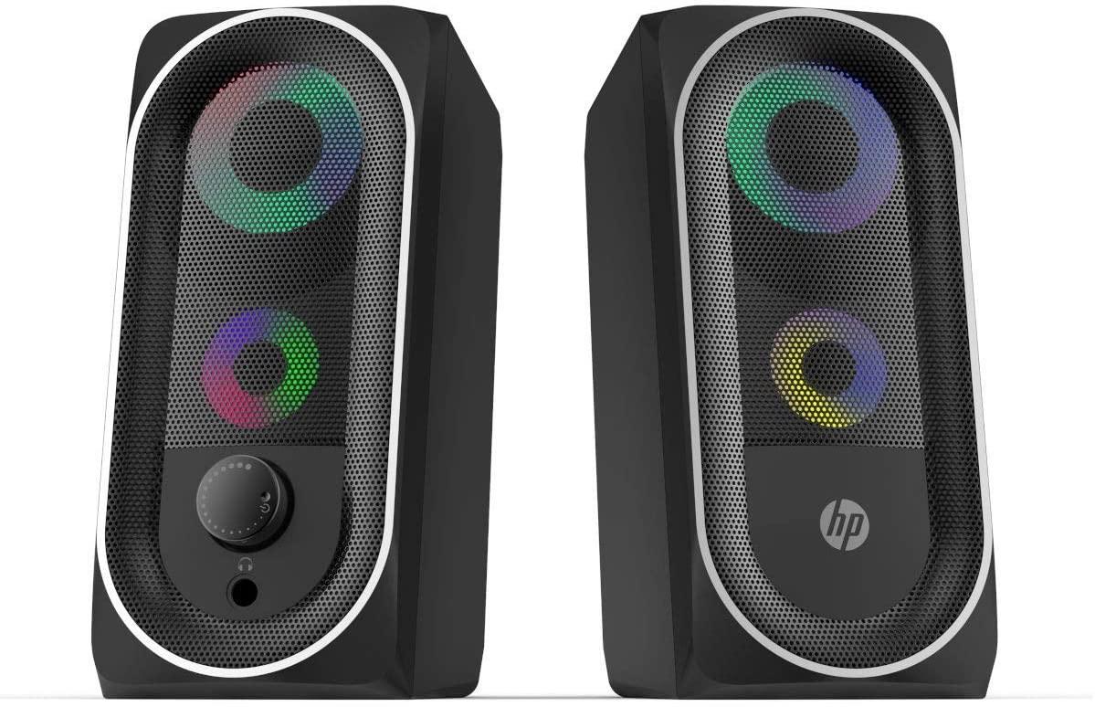 Altavoces HP 2.0 2x3W Gaming RGB