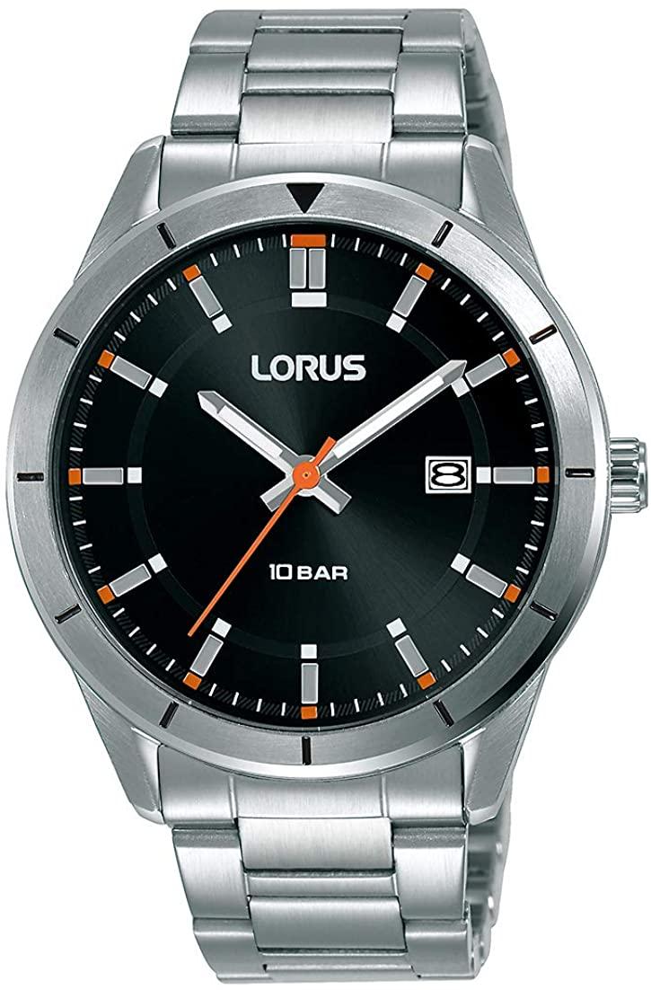 Reloj analógico de hombre con Correa en Acero Inoxidable Lorus