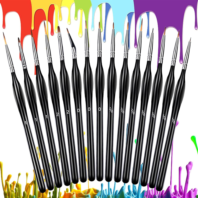 15 Pinceles para pintar