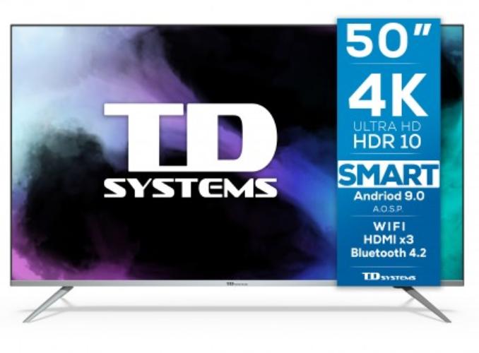 "Smart TV 50"" TD Systems K50DLJ12US"