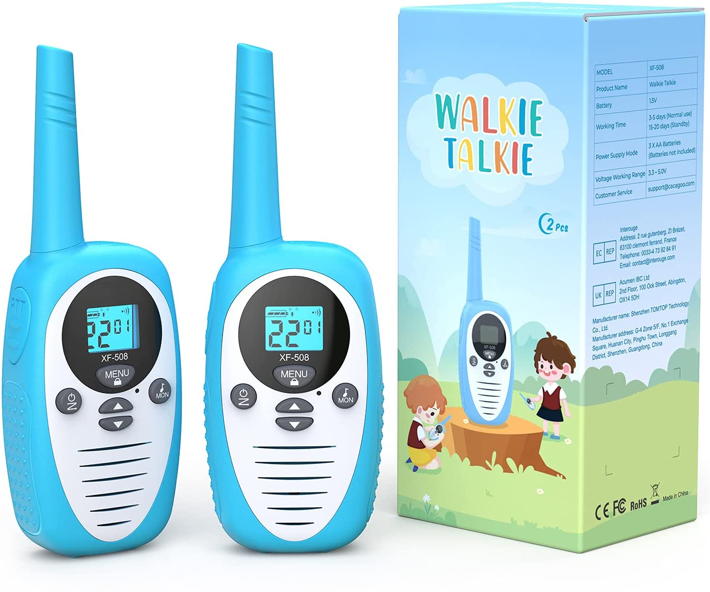 Set de Walkie Talkies para niños