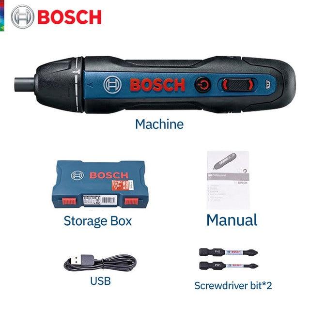 Destornillador eléctrico Bosch-Go2
