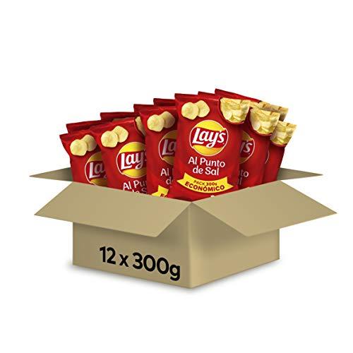 Patatas Fritas Paquete de 12 x 300 gr LayS