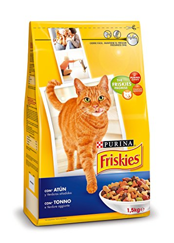 Purina Friskies Pienso para Gato Adulto Atún y Verduras