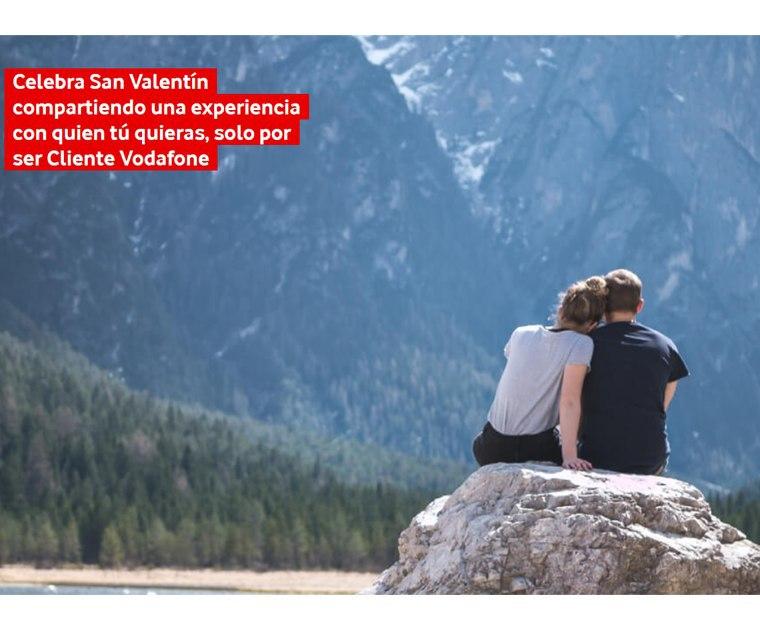Experiencias por ser cliente Vodafone en San Valentín GRATIS