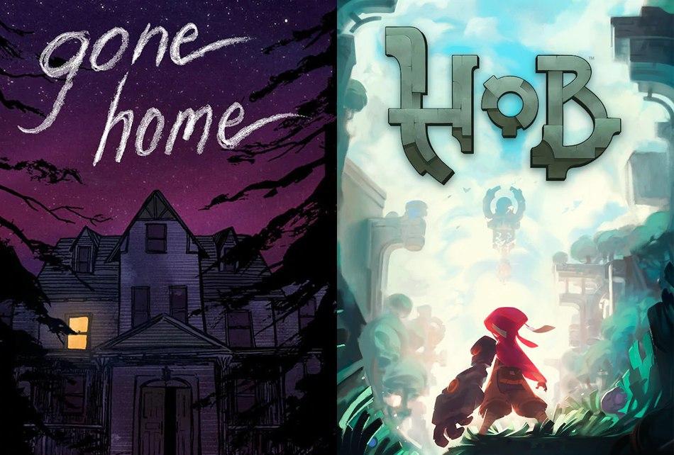 Gone Home y Hob Epic Games