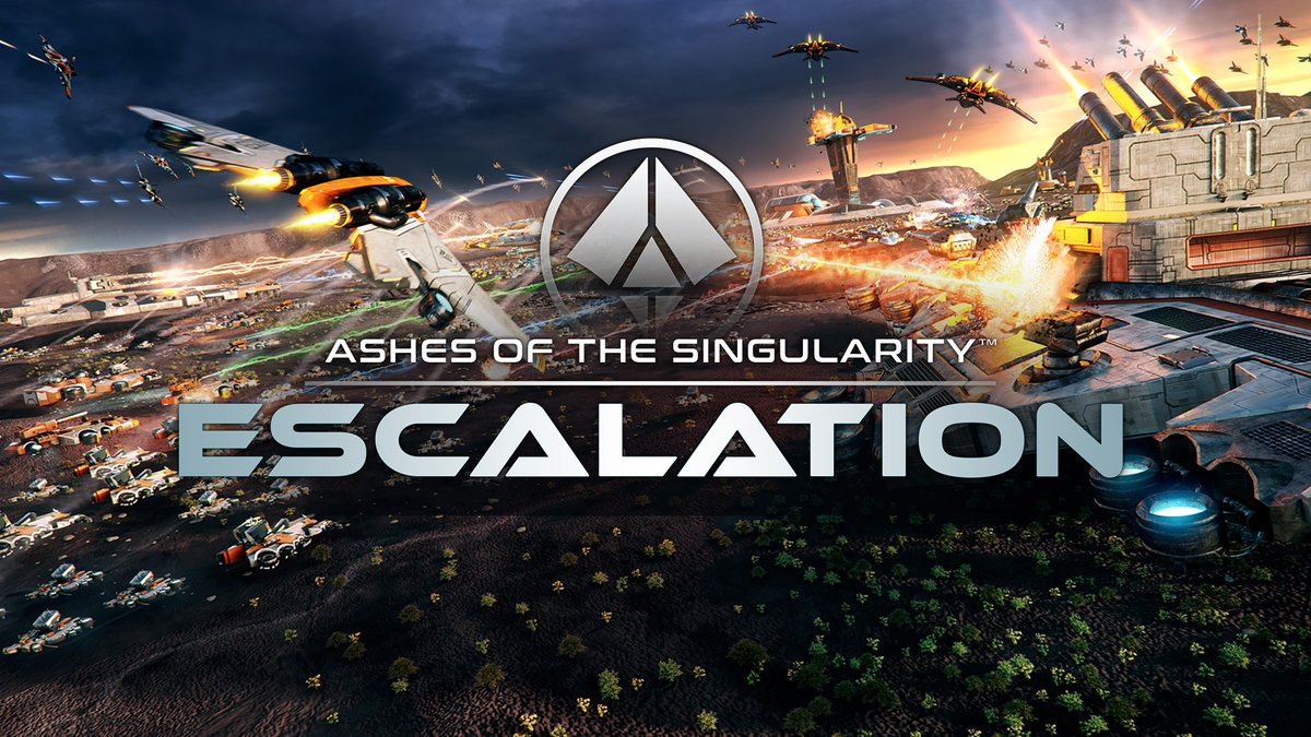 Ashes of the singularity: Escalation para Steam