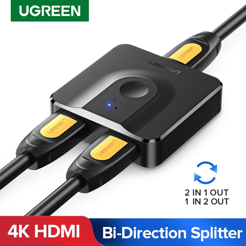Splitter HDMI 4K Bi-direccionable