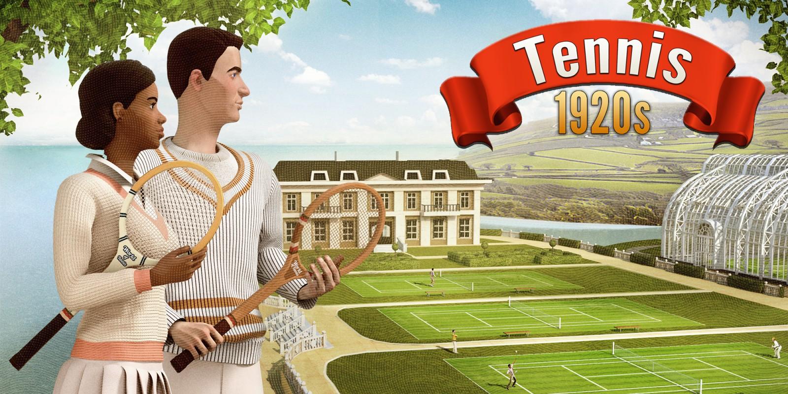 Tennis 1920s Nintendo Switch