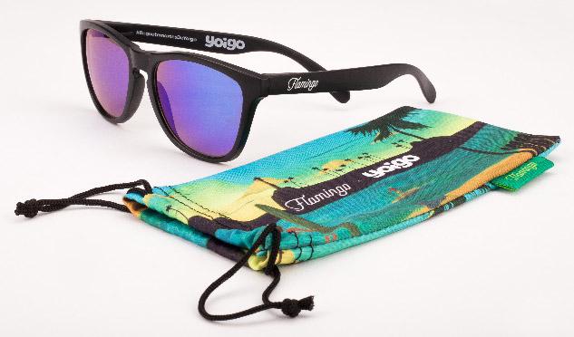 10.000 Gafas de sol Flamingo con los requetemartes de Yoigo
