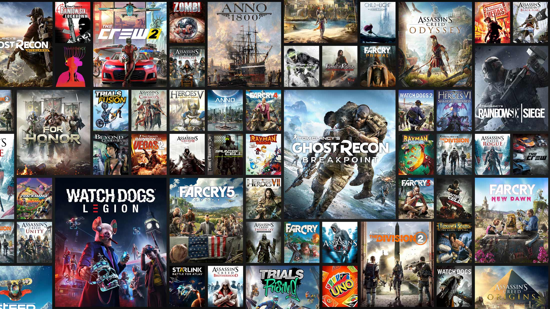 Recopilatorio Ofertas Ubisoft Forward Sale + Cupón 20% de dto. Ubisoft