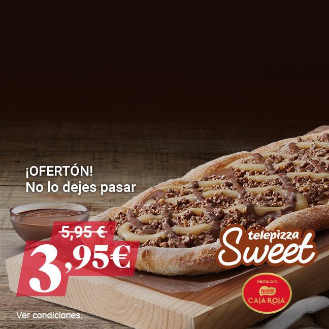 Telepizza Sweet con Caja Roja