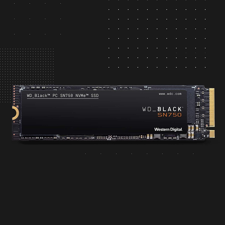 SSD NVME WD Black SN750 500GB