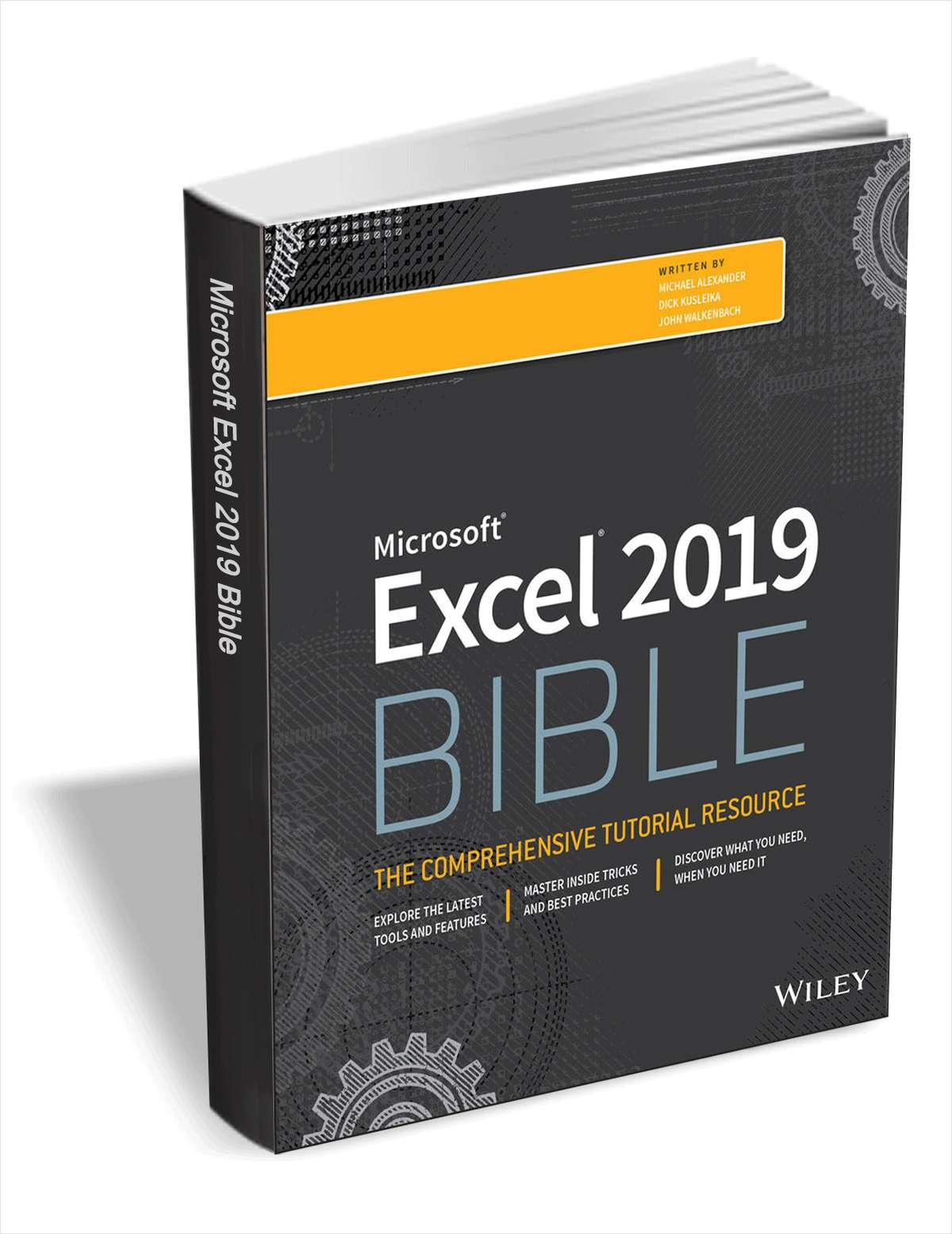 Ebook la Biblia de Excel 2019