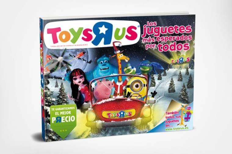 """Recibe en casa tu catálogo de Navidad Toys """"R"""" Us"""