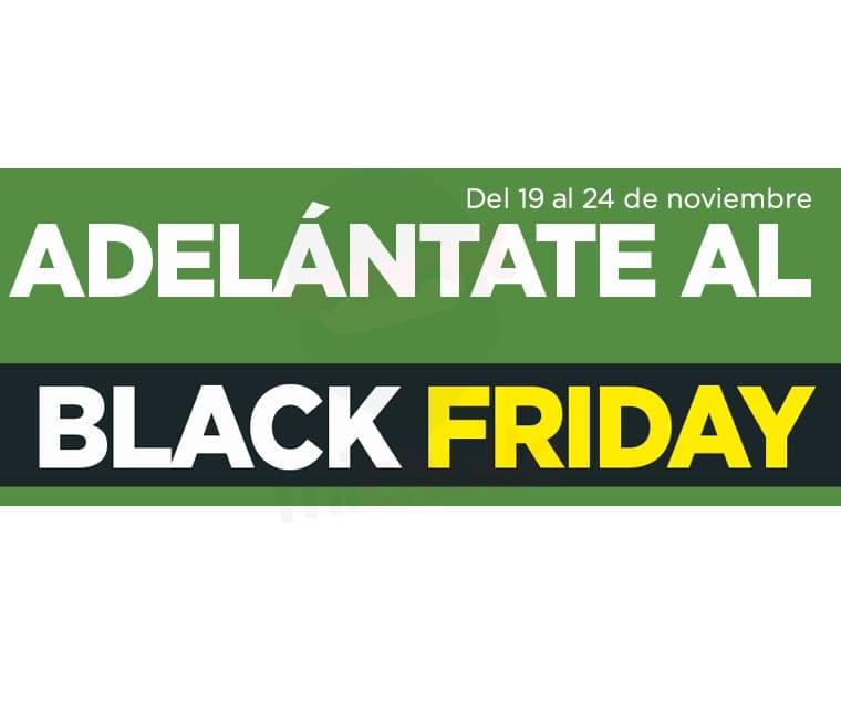 Adelántate al Black Friday (del 19 al 24 de noviembre) en El Corte Inglés