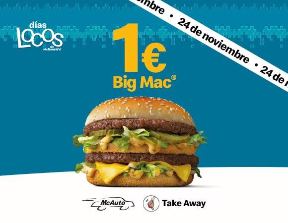 Big Mac McDonald's 24 de noviembre
