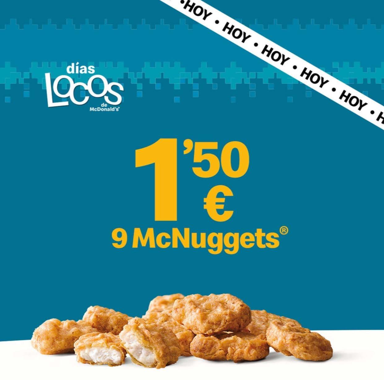 9 McNuggets (25 de noviembre)