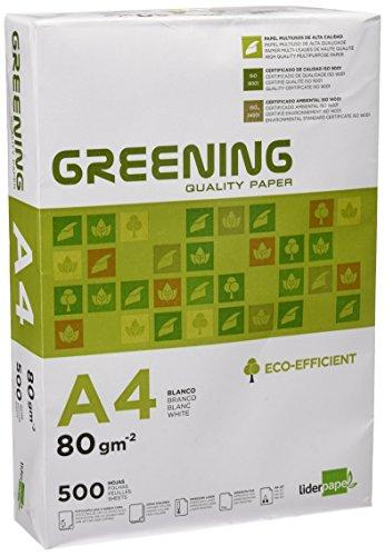 500 Hojas Papel A4 80 Gramos Liderpapel Greening