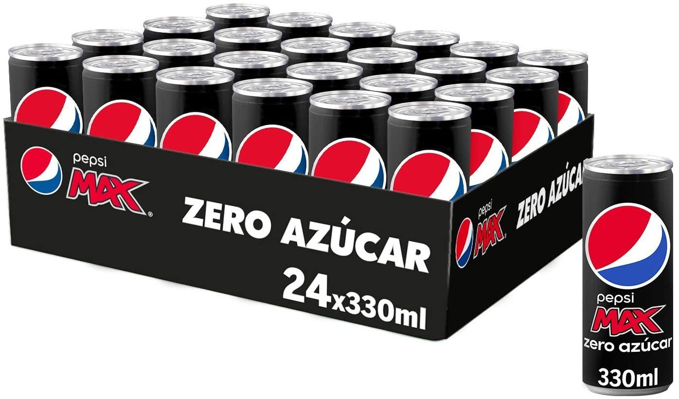 24 Pepsi MAX Zero Azúcar