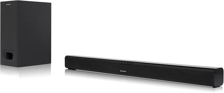 Barra de sonido 2.1 Sharp 180W