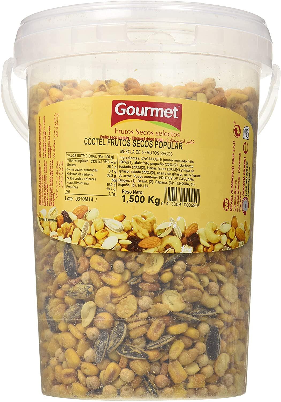 1.5Kg Cóctel frutos secos Gourmet