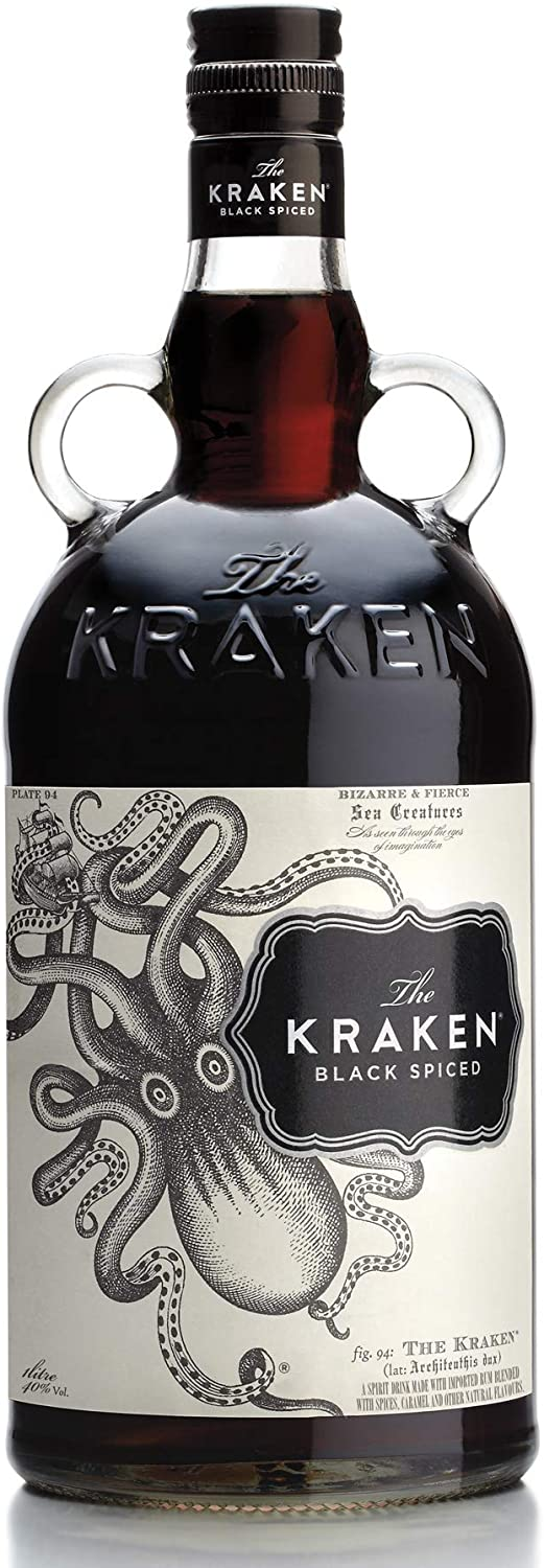 1L The Kraken Black Spiced