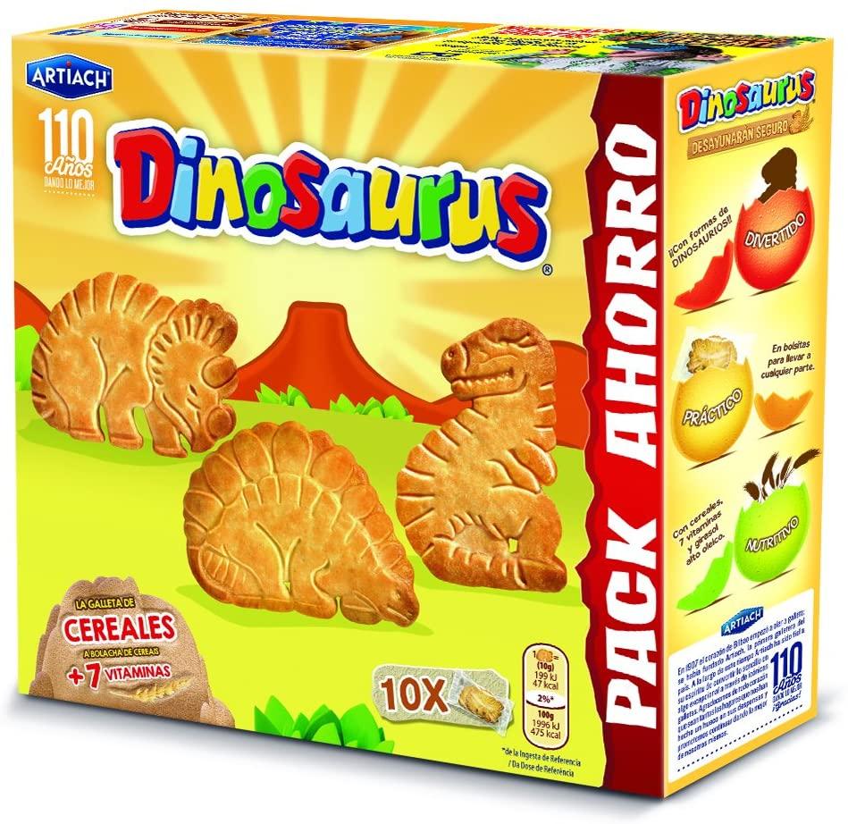 10X Galletas Dinosaurus Superfamiliar