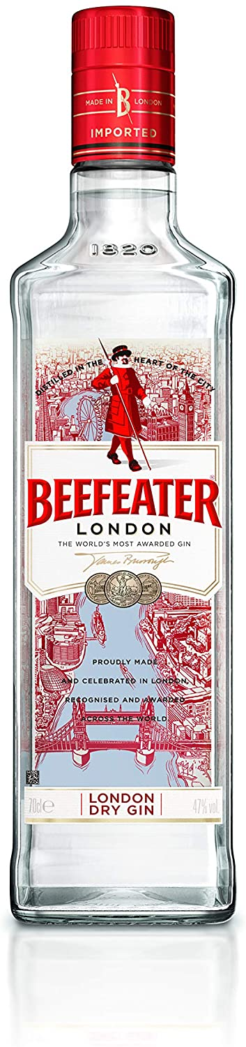 700 ml Beefeater London Dry Ginebra