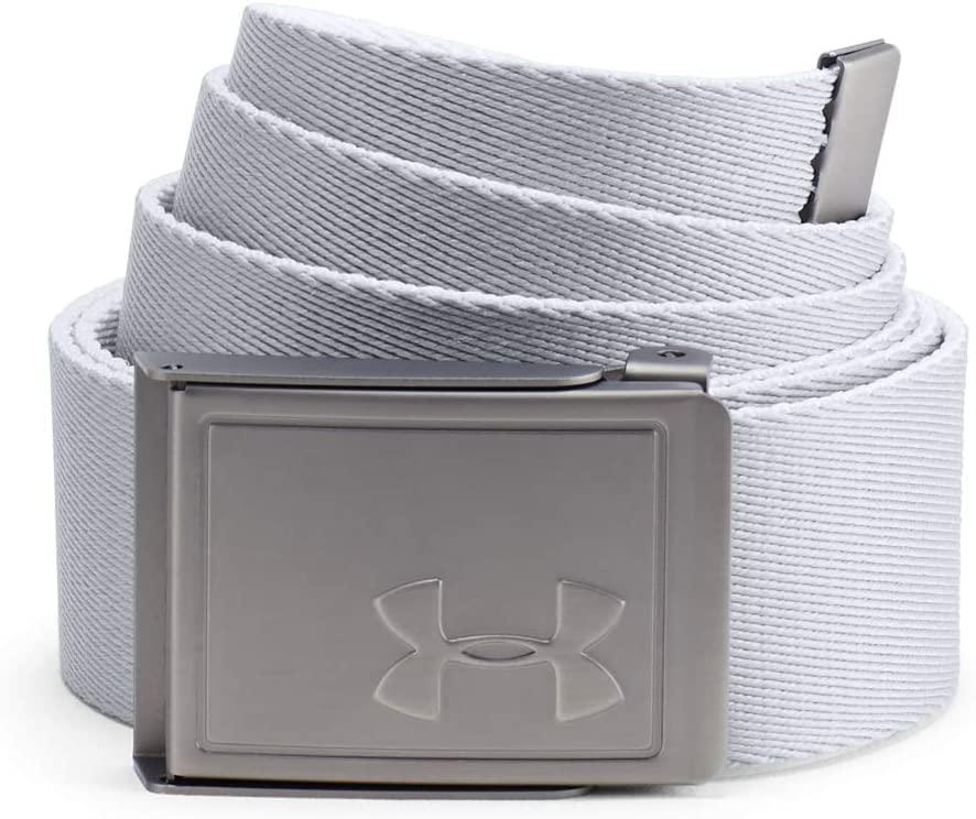 Cinturón Blanco Under Armour Men's Webbing 2.0 Belt