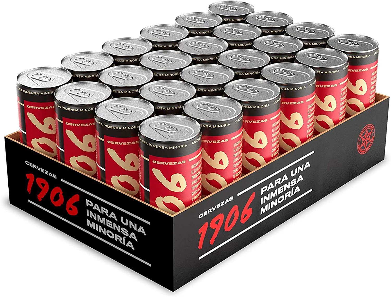 Pack 24x33cl latas 1906 Red Vintage