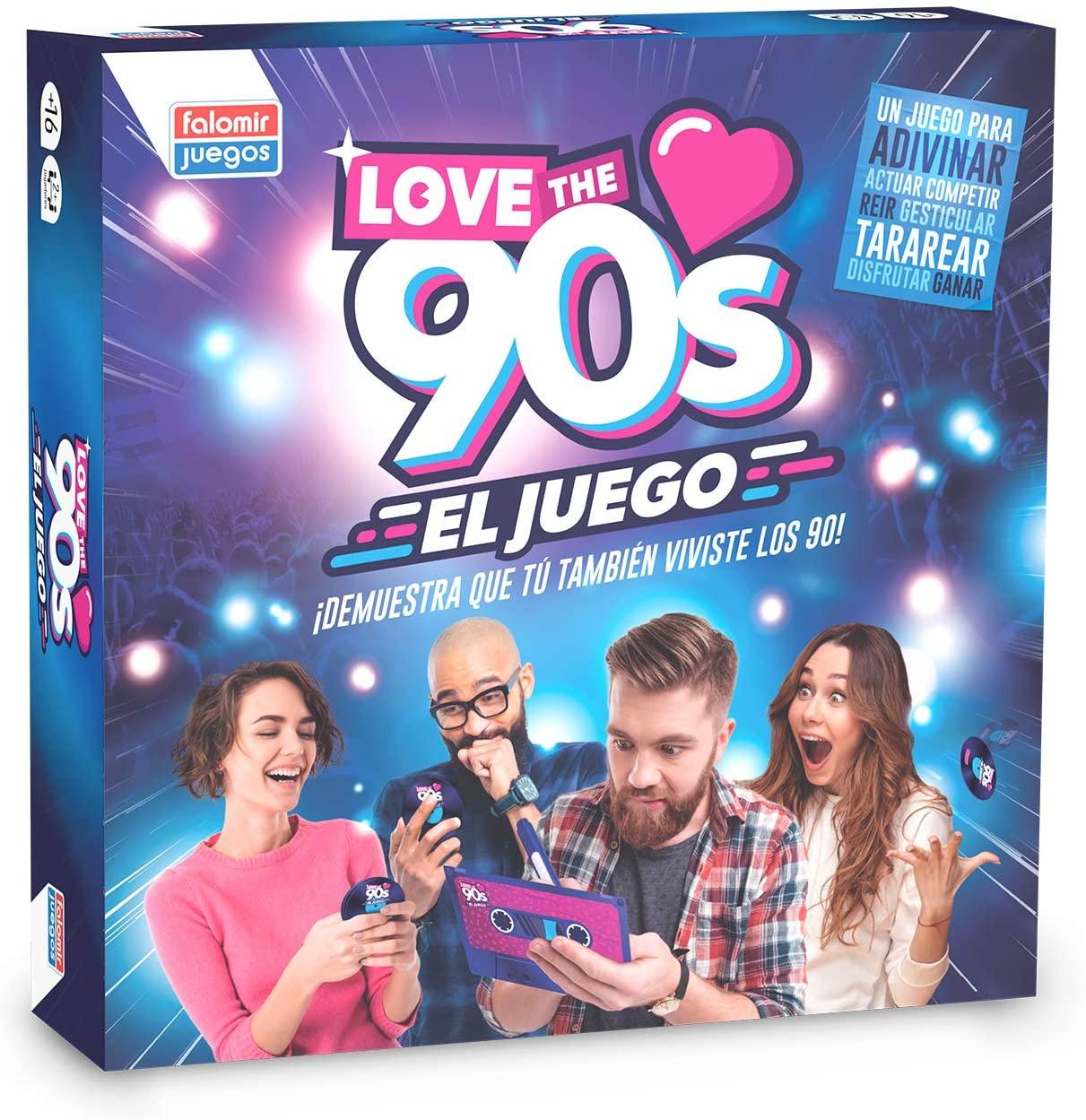 Juego de Mesa Falomir 90's Love The 90´S