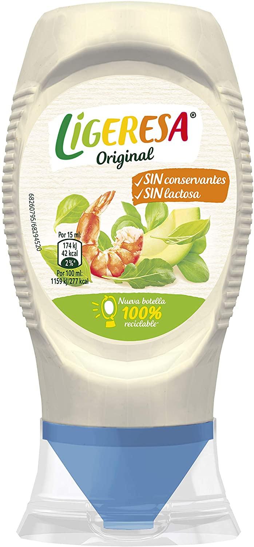 225 ml Ligeresa Salsa Bocabajo