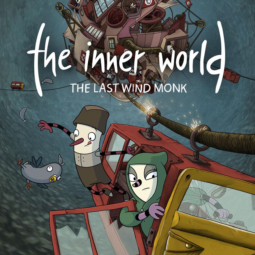 The Inner World The Last Wind Monk NIntendo Switch