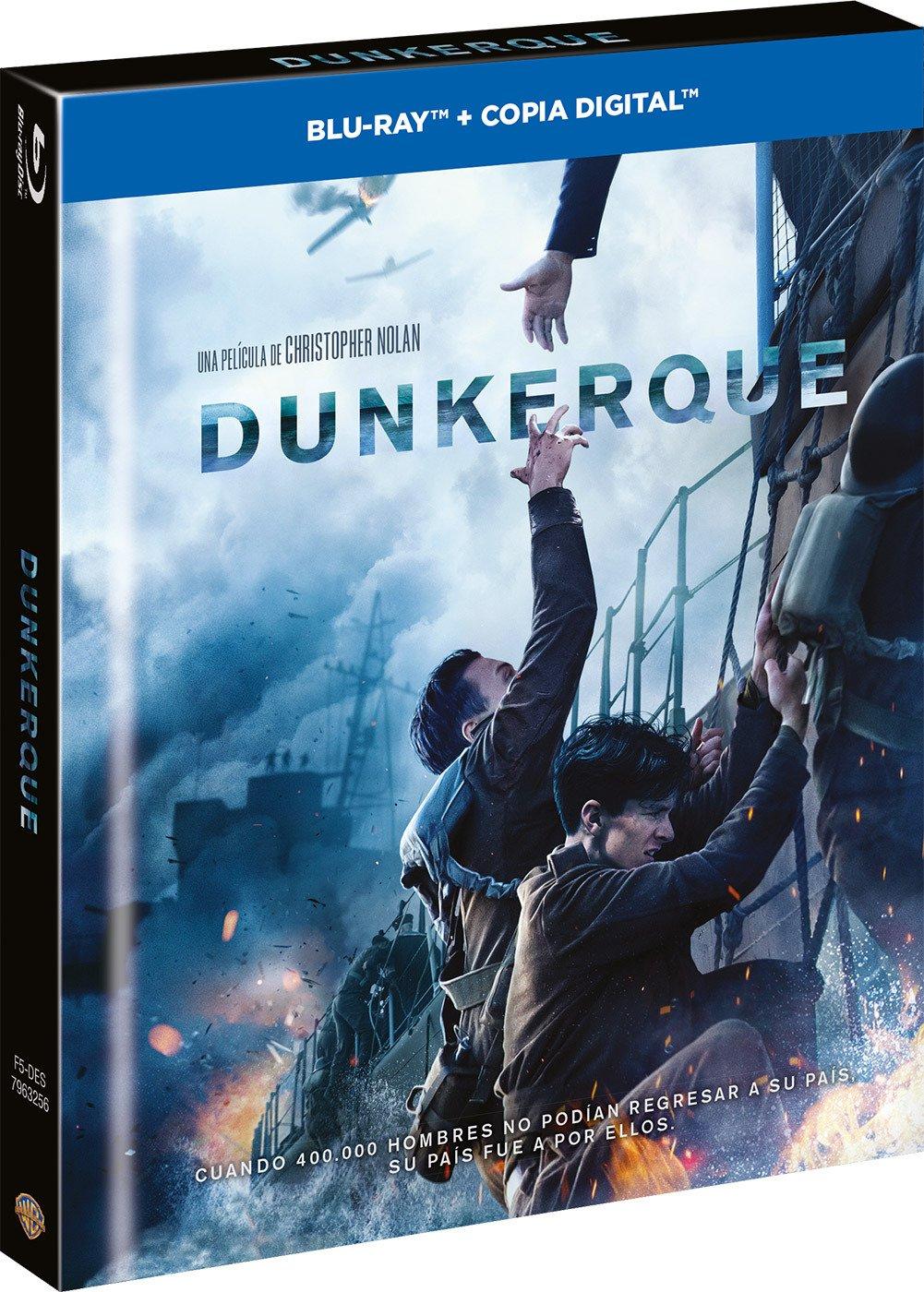Dunkerque Digibook Blu-Ray