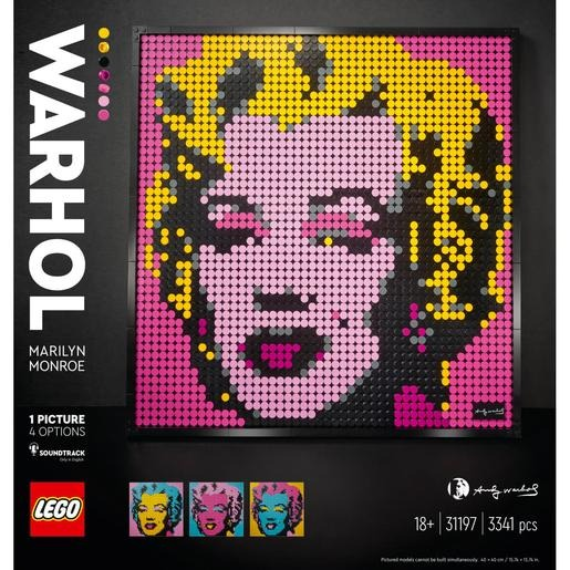 LEGO Art - Andy Warhol's Marilyn Monroe - 31197