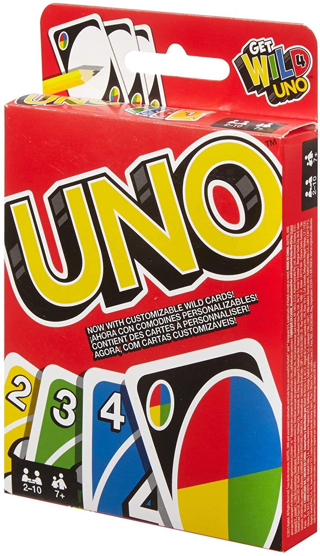 Juego de cartas UNO classic Mattel Games