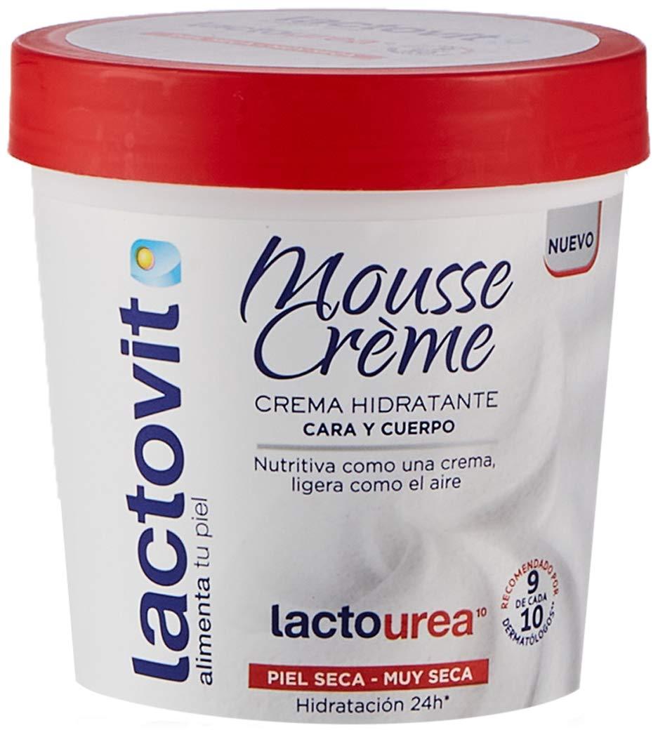 Lactovit Mousse Crème Hidratante Lactourea
