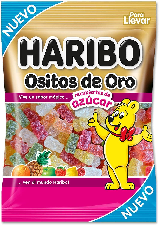18 Bolsas 100g Ositos de oro azúcar Haribo