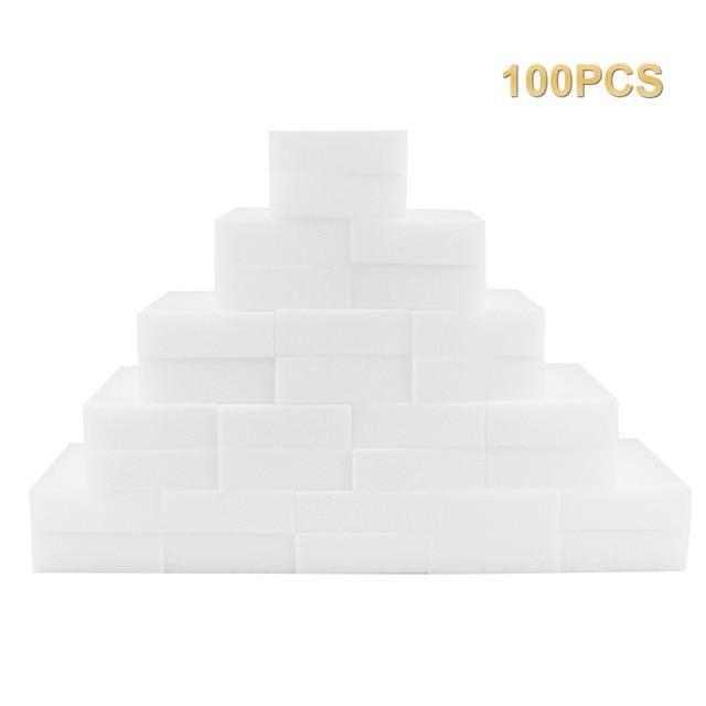 """100x Esponjas """"mágicas"""" de melamina"""