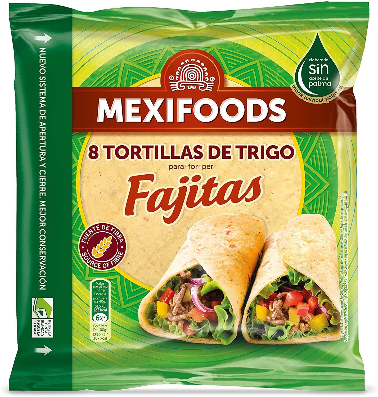 8 Tortillas de Trigo Mexifoods