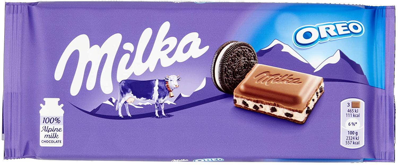100g Milka Oreo Tierno Chocolate