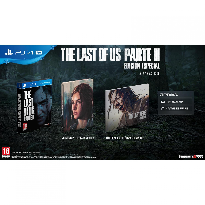 The Last Of Us Parte 2 Edición Especial para PS4